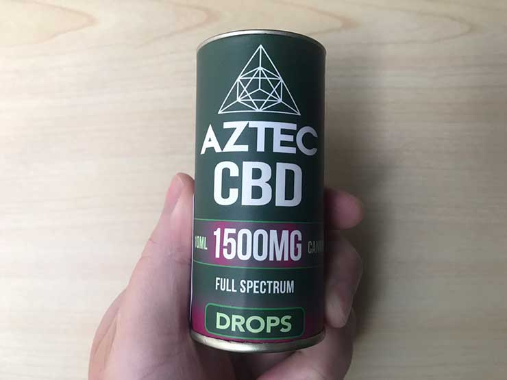 Aztec(アステカ) CBDオイルドロップス フルスぺクトラム
