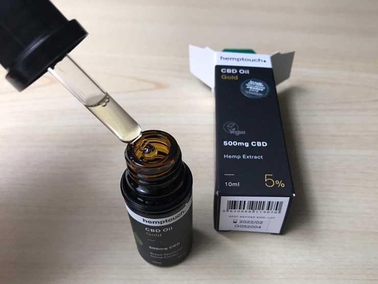 hemp touch(ヘンプタッチ) CBDオイル ゴールド