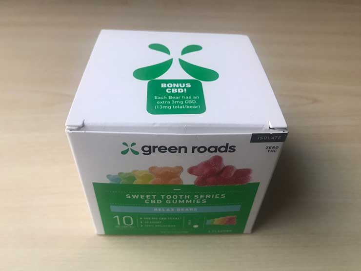 Green Roads(グリーンローズ)CBDグミ
