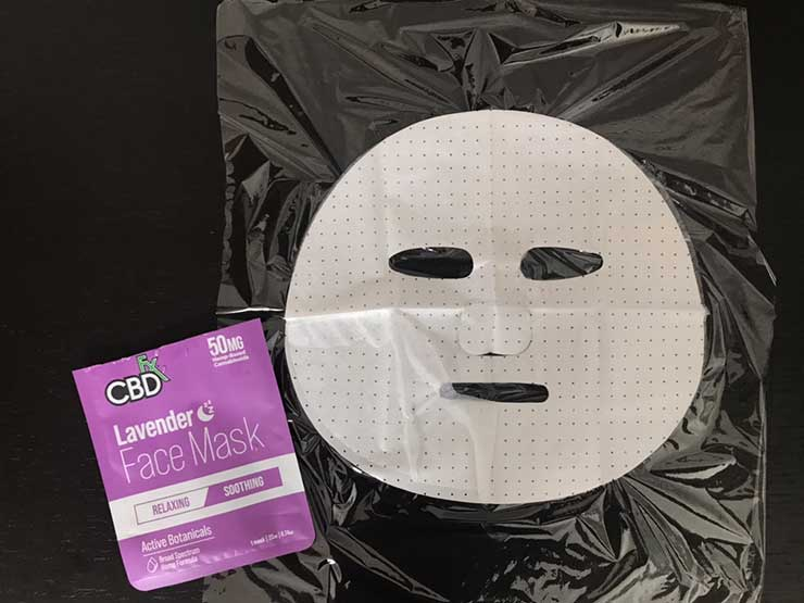 CBDfx フェイスマスク
