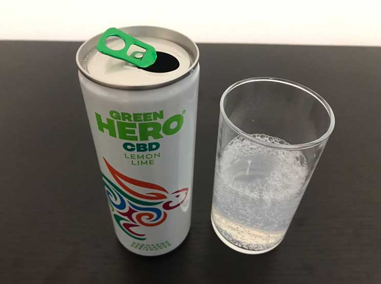 GREEN HERO CBD入りリラクゼーションドリンク